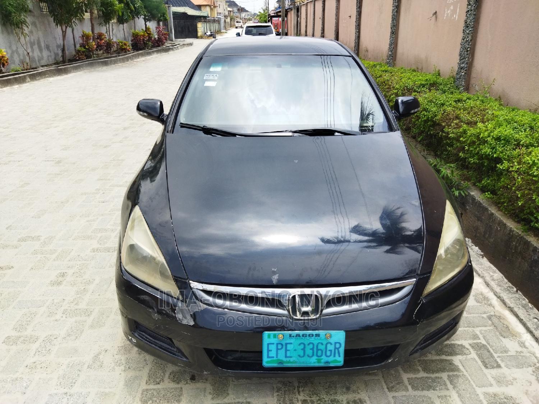 Honda Accord 2007 Black   Cars for sale in Lekki, Lagos State, Nigeria