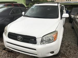 Toyota RAV4 2008 3.5 Sport White   Cars for sale in Lagos State, Ogba