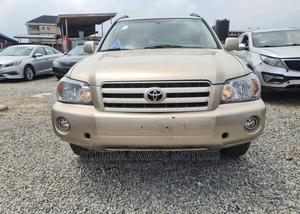 Toyota Highlander 2004 Beige | Cars for sale in Lagos State, Yaba