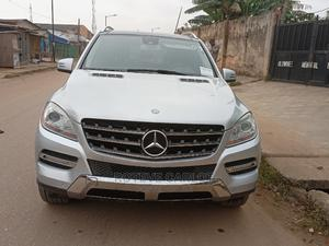 Mercedes-Benz M Class 2012 ML 350 4Matic Silver | Cars for sale in Lagos State, Abule Egba