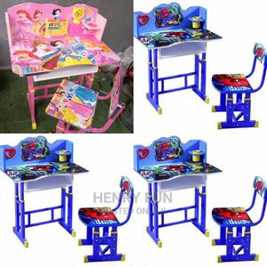 Wooden Table and Chair   Children's Furniture for sale in Lagos State, Ikoyi