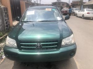 Toyota Highlander 2003 Green | Cars for sale in Lagos State, Surulere