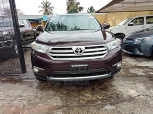 Toyota Highlander 2013 Limited 3.5l 4WD Burgandy | Cars for sale in Lagos State, Maryland