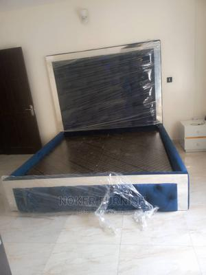 Mirror Bed With 1 Bedside Drawers | Furniture for sale in Lagos State, Ipaja
