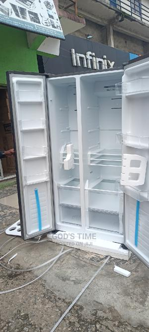 Hisense Side By Side Refrigerator Super Cooling Function | Kitchen Appliances for sale in Lagos State, Ojo