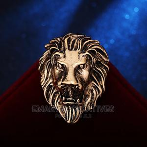 Vintage Animal Lion Head Brooches for Natives Suit | Clothing Accessories for sale in Lagos State, Surulere