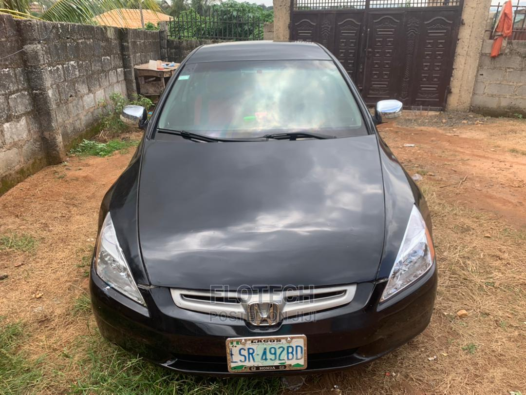 Honda Accord 2004 2.4 Type S Automatic Black   Cars for sale in Ado Ekiti, Ekiti State, Nigeria