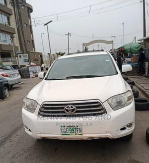 Toyota Highlander 2008 White   Cars for sale in Lagos State, Surulere