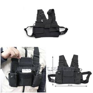 Walkie Talkie Chest Bag Jacket | Audio & Music Equipment for sale in Lagos State, Ikeja