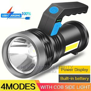 Portable USB LED Flashlight With COB Side Light | Home Accessories for sale in Lagos State, Ikeja