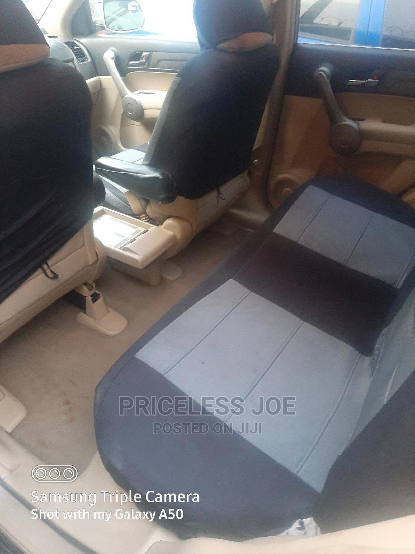 Archive: Honda CR-V 2008 2.4 EX-L 4x4 Automatic Gold