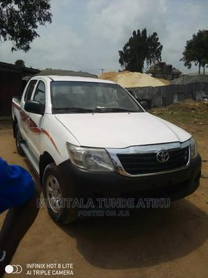 Toyota Hilux 2015 White   Cars for sale in Lagos State, Ejigbo