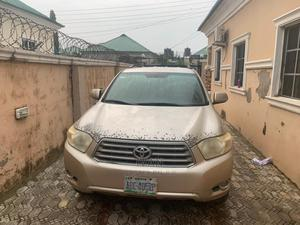 Toyota Highlander 2008 4x4 Gold | Cars for sale in Abuja (FCT) State, Lugbe District
