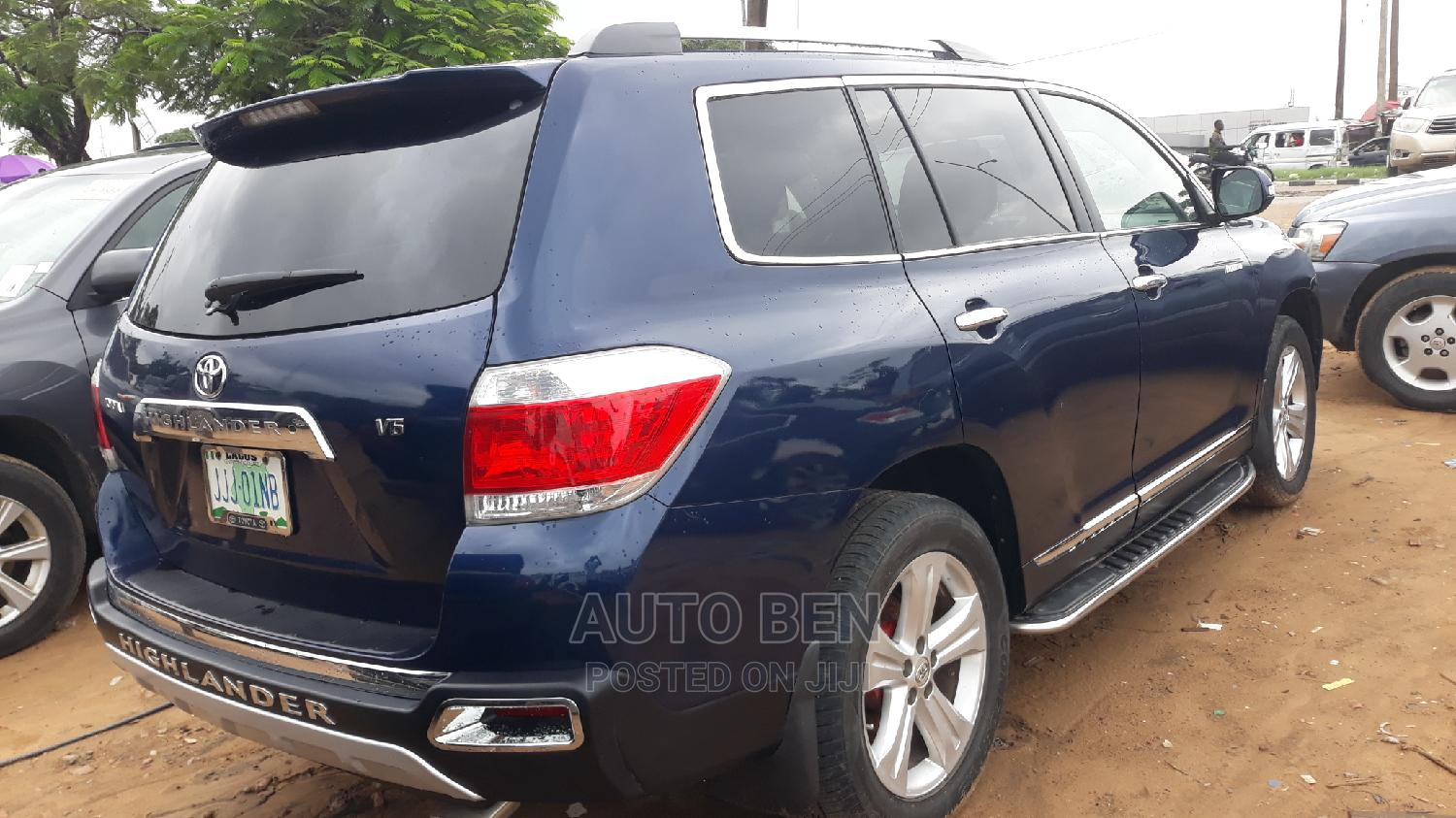Toyota Highlander 2012 Limited Blue   Cars for sale in Amuwo-Odofin, Lagos State, Nigeria
