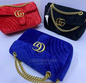 Affordable Luxury GUCCI Suede Crossbody Shoulder Bags | Bags for sale in Lagos State, Lekki