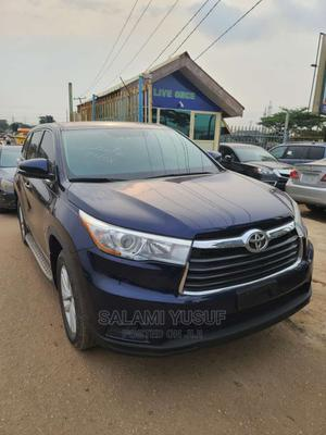 Toyota Highlander 2016 Blue | Cars for sale in Lagos State, Ipaja