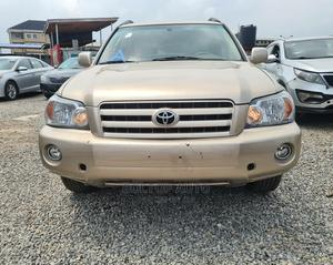 Toyota Highlander 2005 Gold | Cars for sale in Lagos State, Yaba