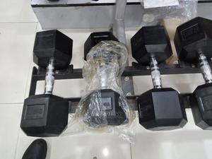 HEX Dumbbell   Sports Equipment for sale in Lagos State, Ikeja