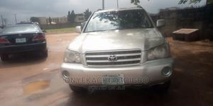 Toyota Highlander 2003 V6 AWD Silver | Cars for sale in Imo State, Owerri