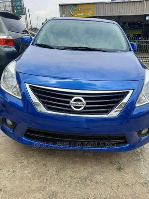 Nissan Versa 2014 Blue   Cars for sale in Lagos State, Ajah