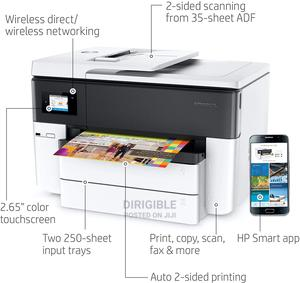 HP Officejet Pro 7740 A3 Wireless All-In-One Printer | Printers & Scanners for sale in Abuja (FCT) State, Central Business District