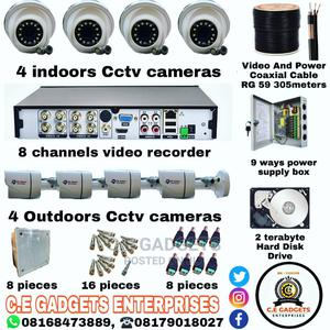 CCTV 8 Channel Kits Combo   Security & Surveillance for sale in Lagos State, Ojo