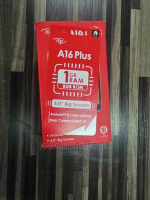 Itel A16 Plus 8 GB Black   Mobile Phones for sale in Kwara State, Ilorin South
