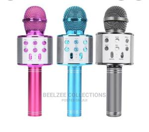 Bluetooth Wireless Karaoke Microphone   Audio & Music Equipment for sale in Lagos State, Ikeja