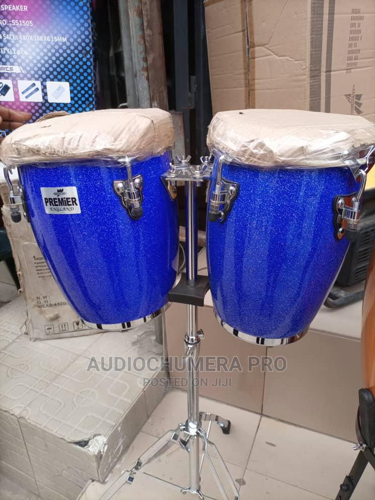 Mini-Conga Drum With Stand