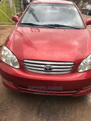 Toyota Corolla 2005 1.4 D-4d Automatic Red | Cars for sale in Lagos State, Ikeja