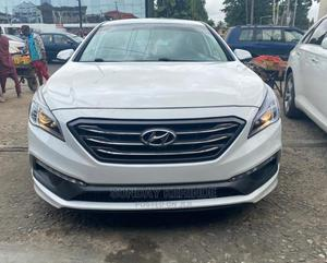Hyundai Sonata 2015 White | Cars for sale in Lagos State, Alimosho