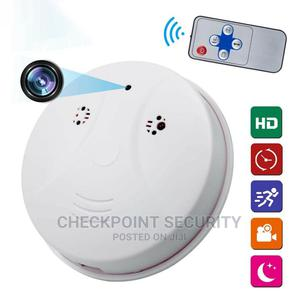 Remote Control Smoke Detector Shape Soy Camera | Security & Surveillance for sale in Lagos State, Ikeja