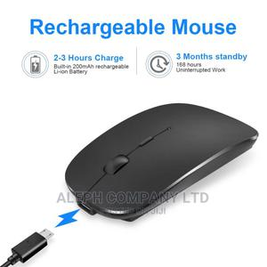 2.4ghz Rechargeable Wireless Mouse With Dual Receiver. | Computer Accessories  for sale in Oyo State, Ogbomosho North