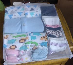 Babies Overall and Body Suit With 12 Pcs Styling Combs   Children's Clothing for sale in Lagos State, Surulere