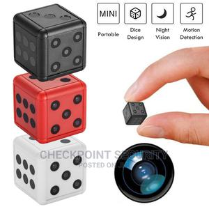 SQ16 Dice Shape Mini Spy Camera | Security & Surveillance for sale in Lagos State, Ikeja