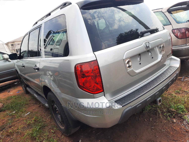 Honda Pilot 2005 EX-L 4x4 (3.5L 6cyl 5A) Silver | Cars for sale in Oluyole, Oyo State, Nigeria