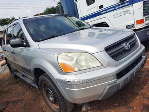 Honda Pilot 2005 EX-L 4x4 (3.5L 6cyl 5A) Silver | Cars for sale in Oyo State, Oluyole