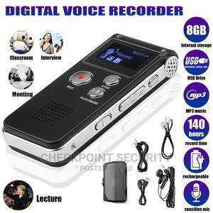 Digital Voice Recorder 8GB Inbuilt | Audio & Music Equipment for sale in Lagos State, Ikeja