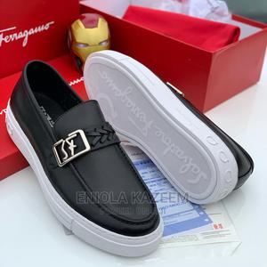 High Quality Designer Leather Ferragamo Available for U   Shoes for sale in Lagos State, Lagos Island (Eko)