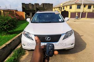 Lexus RX 2012 350 FWD White   Cars for sale in Lagos State, Ikeja