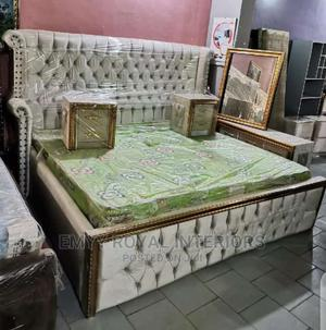 Quality Sets of 6x6 Padded Bed With and Dressing Table   Furniture for sale in Abuja (FCT) State, Central Business District