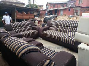 Stone Brown Sofas Available for You   Furniture for sale in Lagos State, Alimosho