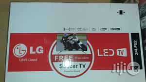 Lg 24 Inches Led Tv With 2years Warranty And Safe Delivery   TV & DVD Equipment for sale in Lagos State, Ojo