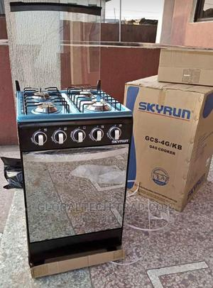Skyrun 4B Standing Gas Cooker With Oven Lamp- | Kitchen Appliances for sale in Lagos State, Ojo