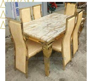Gold Dining Table | Furniture for sale in Lagos State, Ojo