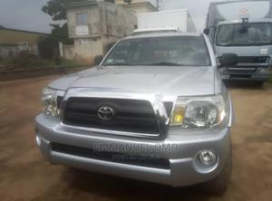 Toyota Tacoma 2008 4x4 Double Cab Silver | Cars for sale in Edo State, Benin City