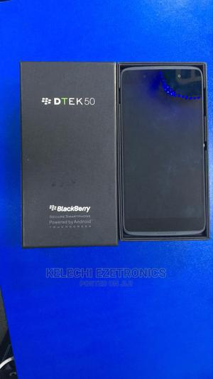New BlackBerry DTEK50 16 GB Gray   Mobile Phones for sale in Lagos State, Ikeja