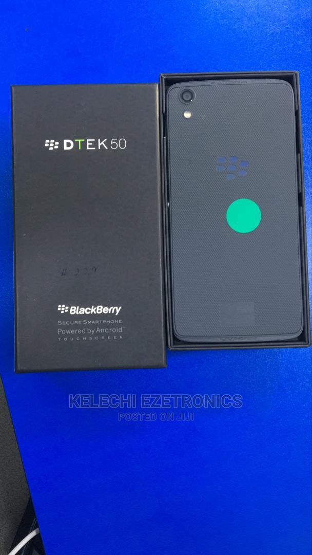 New BlackBerry DTEK50 16 GB Gray   Mobile Phones for sale in Ikeja, Lagos State, Nigeria