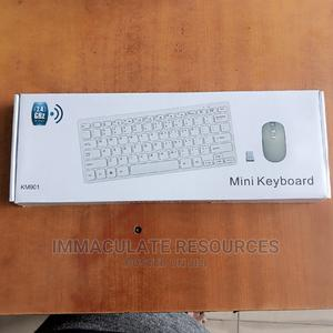 Mini Wireless Keyboard and Mouse Combo | Computer Accessories  for sale in Rivers State, Port-Harcourt