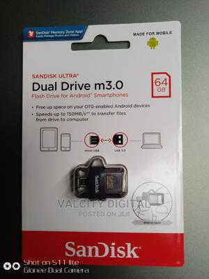 Sandisk OTG 64gb Flash Drive   Computer Accessories  for sale in Lagos State, Ikeja